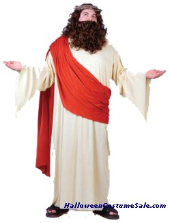 JESUS ADULT COSTUME - PLUS SIZE