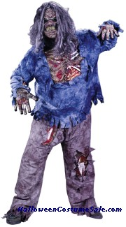 ZOMBIE ADULT COSTUME - PLUS SIZE