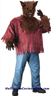 WEREWOLF ADULT COSTUME - PLUS SIZE