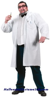 DR. COAT ADULT COSTUME  - PLUS SIZE