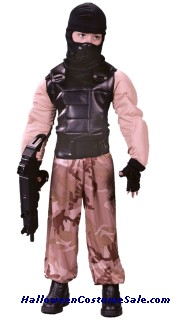 SPECIAL FORCES SOLDIER CHILD COSTUME