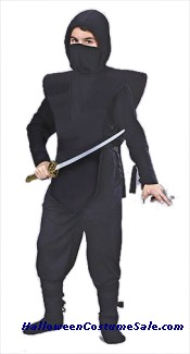 NINJA CHILD COSTUME - COMPLETE SET