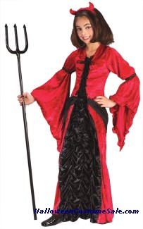 DEVIL PRINCESS CHILD COSTUME