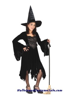 VELVET WITCH CHILD COSTUME