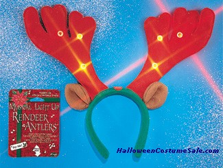 MUSICAL LITE UP ANTLERS