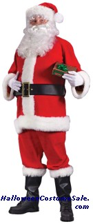 ECONOMY SANTA ADULT COSTUME - PLUS SIZE