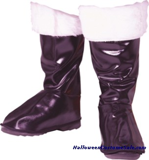 PLEATHER SANTA BOOT TOPS