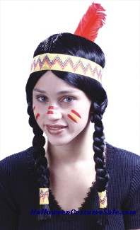 Native Indian Costume Makeup - Mugeek Vidalondon