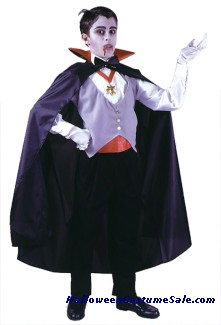 CLASSIC VAMPIRE COSTUME, CHILD