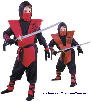 COMPLETE NINJA CHILD COSTUME