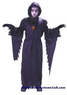 SCREAM FACE ROBE CHILD COSTUME