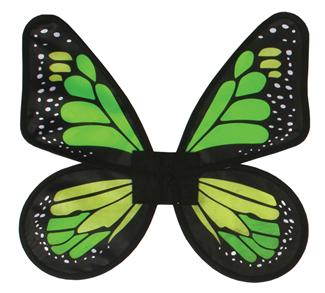 WINGS BUTTERFLY SATIN ADULT SIZE