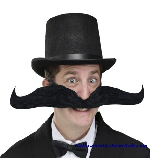 BENDY JUMBO ADULT MUSTACHE