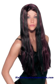 WITCH STRIPED WIG