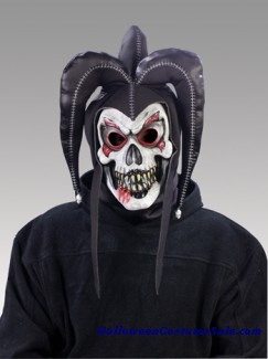 TWISTED JESTER MASK