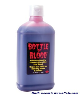 1Pint Bottle Of Blood