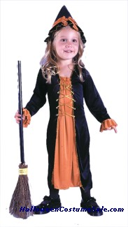 RENAISSANCE WITCH TODDLER COSTUME