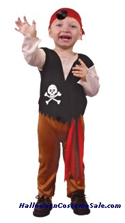 PIRATE CHILD COSTUME