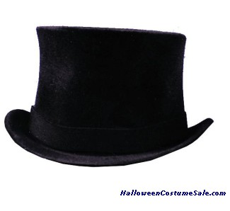 PRINCE CHARLES TOP HAT, BLACK