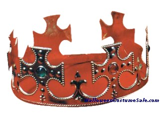 CROWN JEWELED PLASTIC