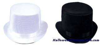 TRANSLUCENT SILK TOP HAT