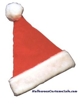SANTA CLAUS RED VELVET SACK BAG WITH BELLS CHRISTMAS COSTUME ACCESSORY RU26504