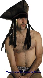 PIRATE HAT WITH DREADS