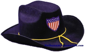 CIVIL WAR HAT, ECONO, BLUE
