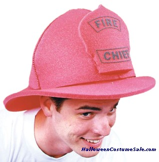 FIRE CHIEF HAT, FOAM
