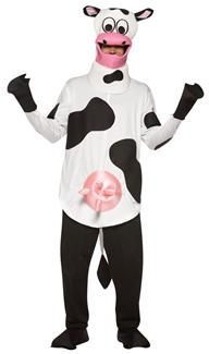 COW ADULT COSTUME