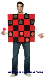 King Me! Checkers Adult Costume