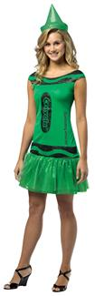 CRAYOLA ILL EMERALD CHILD COSTUME