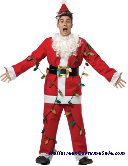 NATIONAL LAMPOON SANTA SUIT ADULT COSTUME