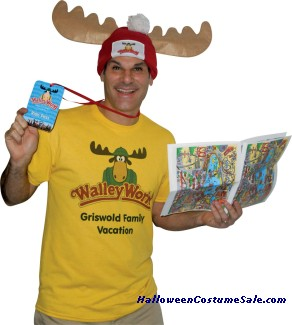 WALLY WORLD PARK FAN KIT ADULT COSTUME