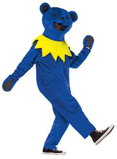 GRATEFUL DEAD DANCIN BEAR ADULT COSTUME