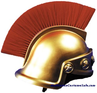 SPARTAN HELMET,GOLD ONLY