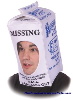 MILK CARTON HAT