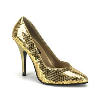 SEDUCE SEQUIN PUMP SHOE