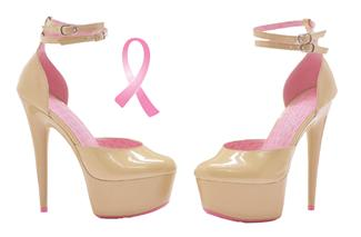 CURISSA CANCER AWARENESS SHOE