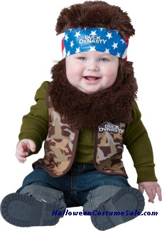 DUCK D BABY WILLIE INFANT COSTUME