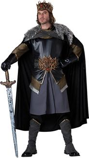 MEDIEVAL KING PLUS SIZE ADULT COSTUME