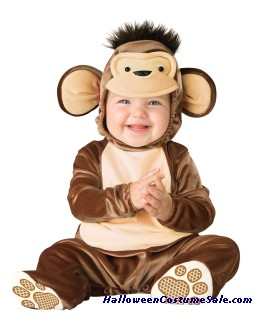 Mischievious Monkey Toddler Costume