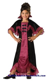 MIDNIGHT VAMPIRESS CHILD COSTUME