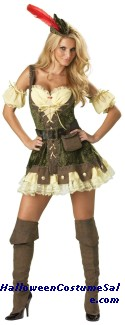 Racy Robin Hood Adult Costume - Very Hot!