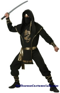 NINJA WARRIOR COSTUME
