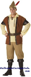 ROBIN HOOD ADULT COSTUME - PLUS SIZE