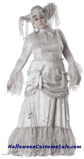 GHOSTLY LADY ADULT COSTUME - PLUS SIZE
