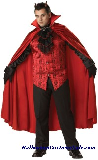 Devil Handsome Adult Costume - Plus Size