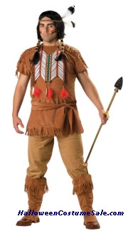 INDIAN BRAVE PLUS SIZE COSTUME