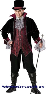 VAMPIRE OF VERSAILLES PLUS SIZE COSTUME